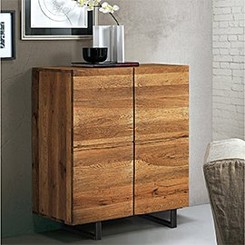 Muebles de madera maciza de roble