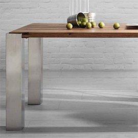 Muebles en acero y madera