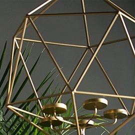 Muebles y decoración de varillas de metal