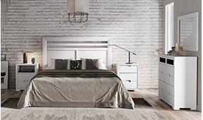Dormitorio blanco Domaine