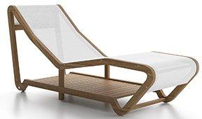 Chaise longue de jardín Infinity