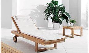 Chaise longue de jardín Serter