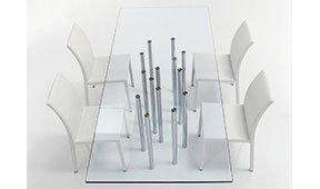 Mesa de comedor rectangular Mille Bonaldo