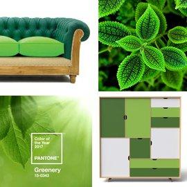Greenery, el color del año 2017 según Pantone