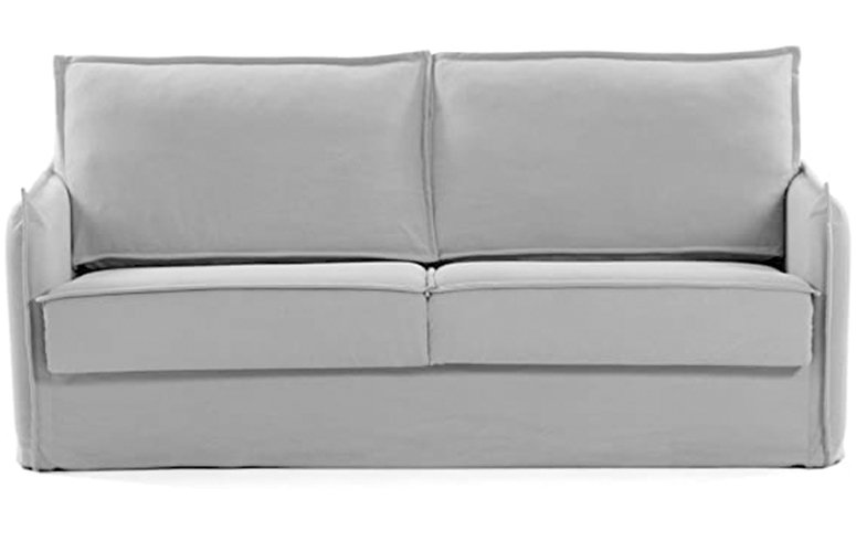 Sofá cama Samsa lino gris