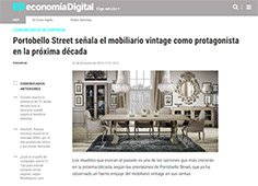 Señala el mobiliario vintage como protagonista en la próxima década