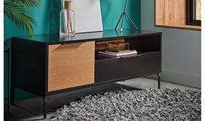 Mueble tv pequeño industrial Savoi