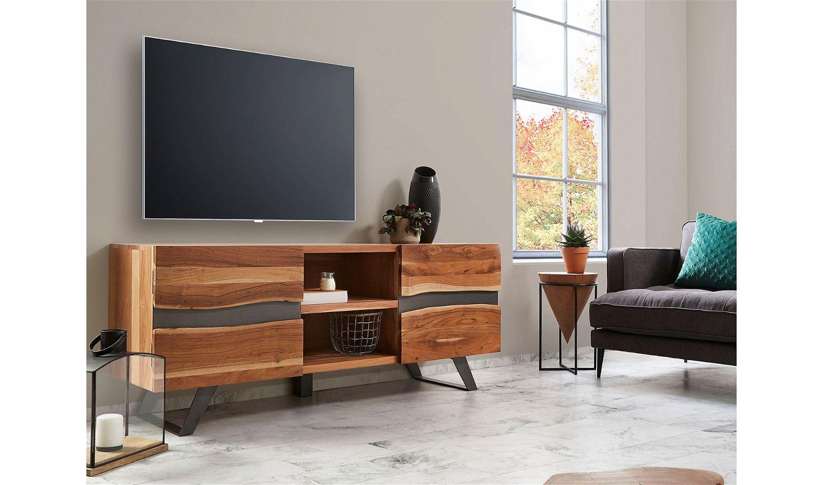 Mueble TV Acacia natural Irvin