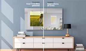 Espejo inteligente con tv integrada de 43 pulgadas