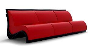 Sofa Moderno Laminat