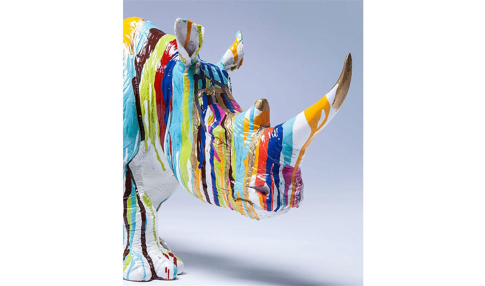 Set 2 estatuillas vintage Rinoceronte