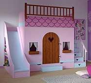 Dormitorio Casita Tobogán
