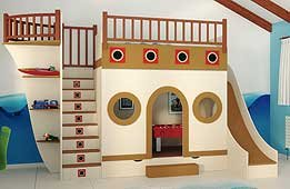 Dormitorio Barco Pirata I