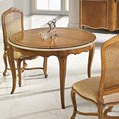 Mesa de comedor clásica Luis XV