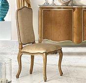 Silla Luis XV respaldo tapizado