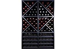 Botellero Merlot Super 112 botellas vino