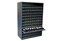 Botellero Merlot Super 108 botellas vino