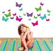 Vinilo butterfly garden