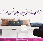 Vinilo color butterflies