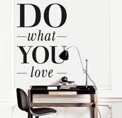 Vinilo do what you love
