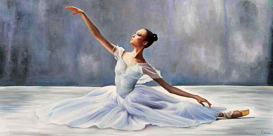 Cuadro canvas ballerina