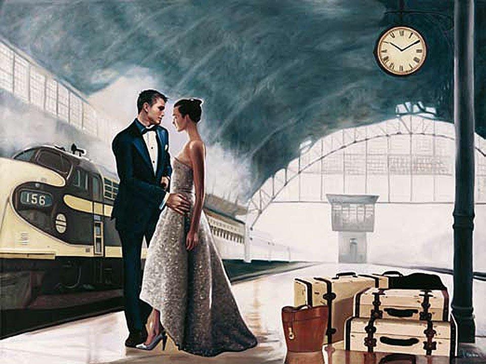 Cuadro canvas love journey