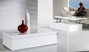 Mesa de Centro baúl elevable Moderno Stepy
