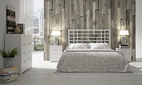 Dormitorio Oberoi blanco