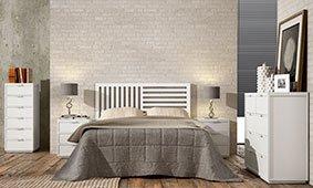 Dormitorio Nayara blanco