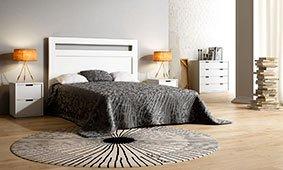 Dormitorio Carlton blanco