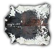 Alfmbra de piel toro normando pequeña