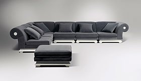 Sofa rinconera vintage Alba