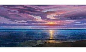 Cuadro canvas tramonto sognante