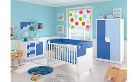 Dormitorio Brad para bebés