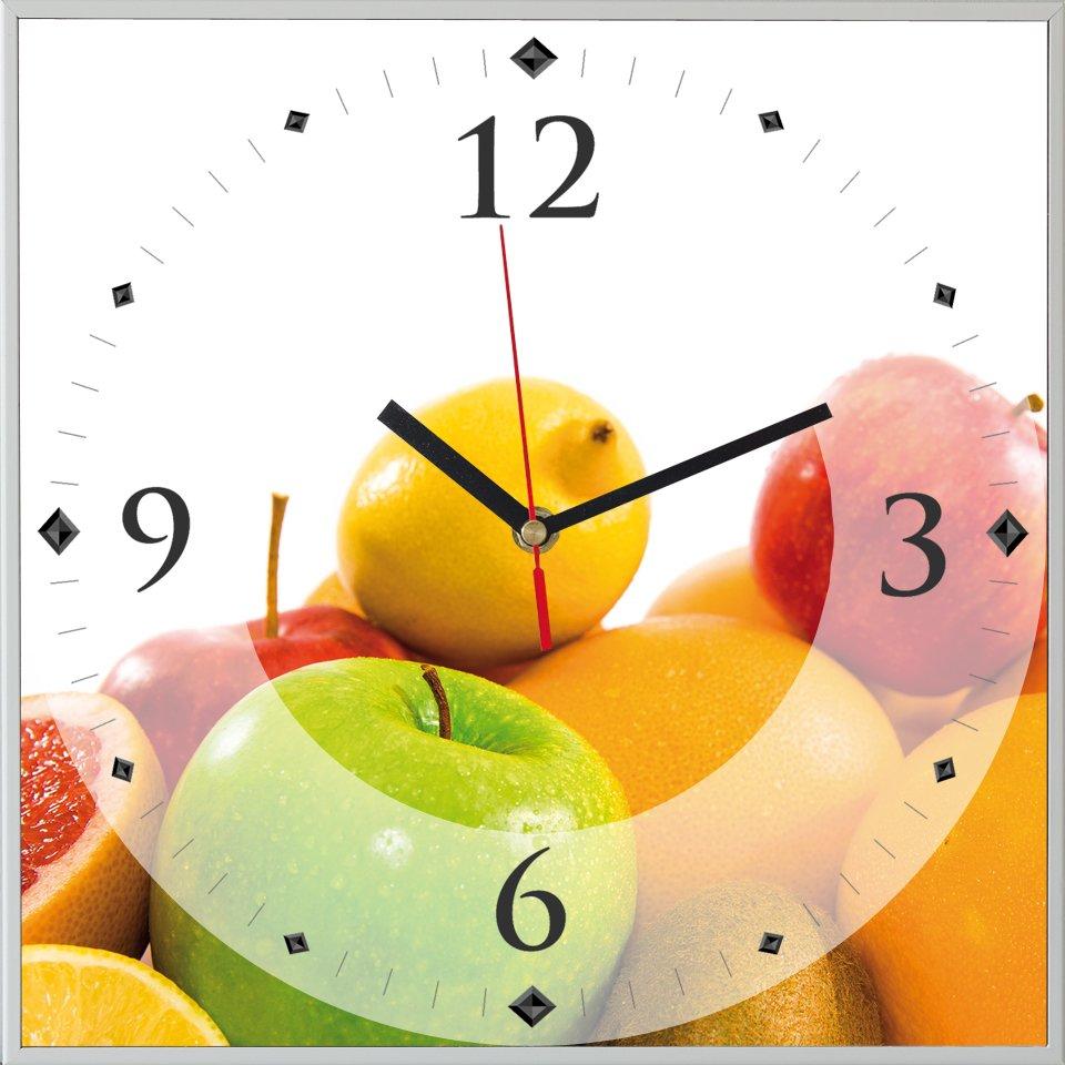 Reloj cuadrado fruit