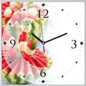 Reloj cuadrado melon