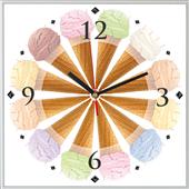 Reloj cuadrado Ice Cream