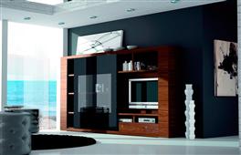 Mueble de salón compacto moderno Exclusive