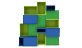 Librería Modular Cuadram L2