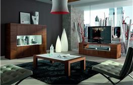 Ambiente de salón Exclusive Nogal