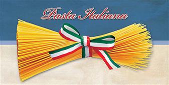 Cuadro canvas pasta italiana