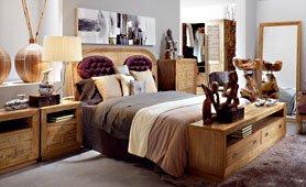 Dormitorio Colonial Merapi