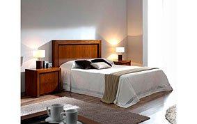 Cabecero moderno madera para cama 150