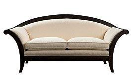 Sofá tapizado blanco Venus