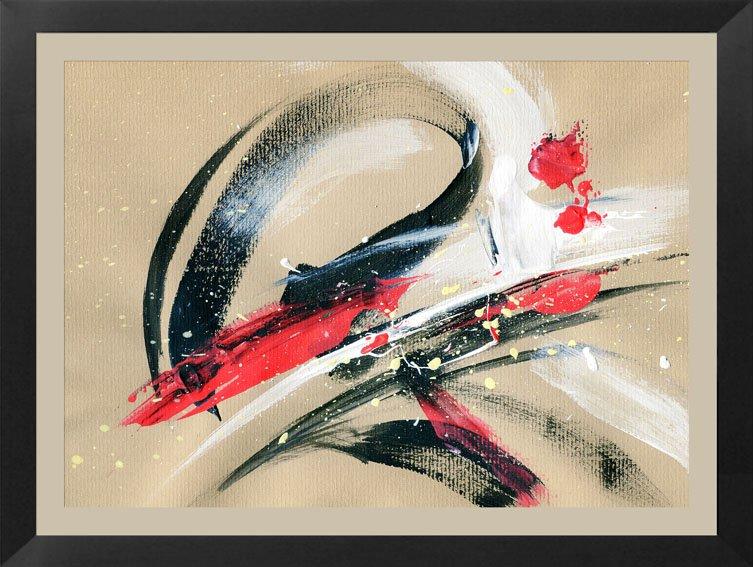 Cuadro Abstracto sobre lienzo Ref. 63