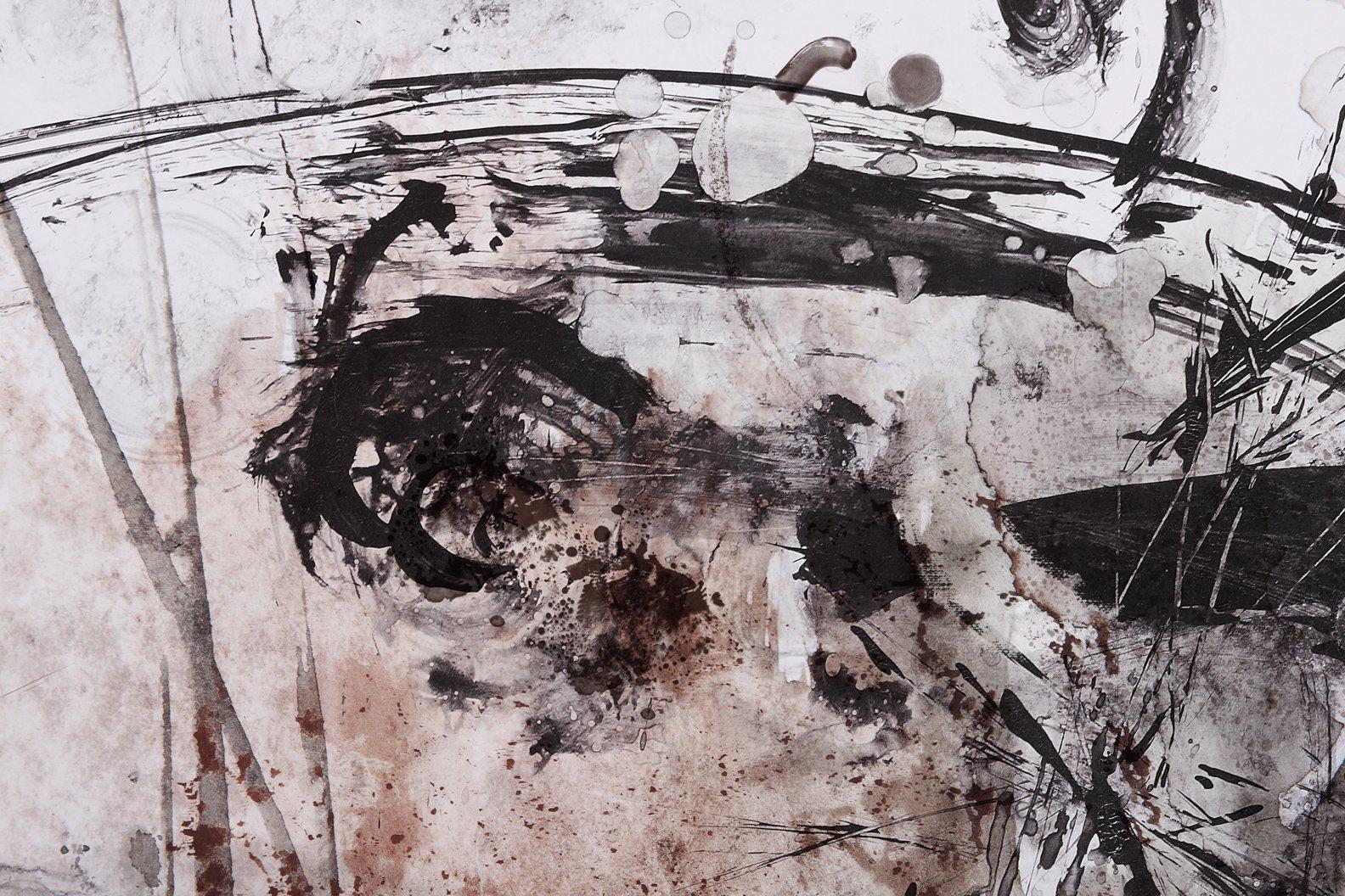 Cuadro Abstracto sobre lienzo Ref