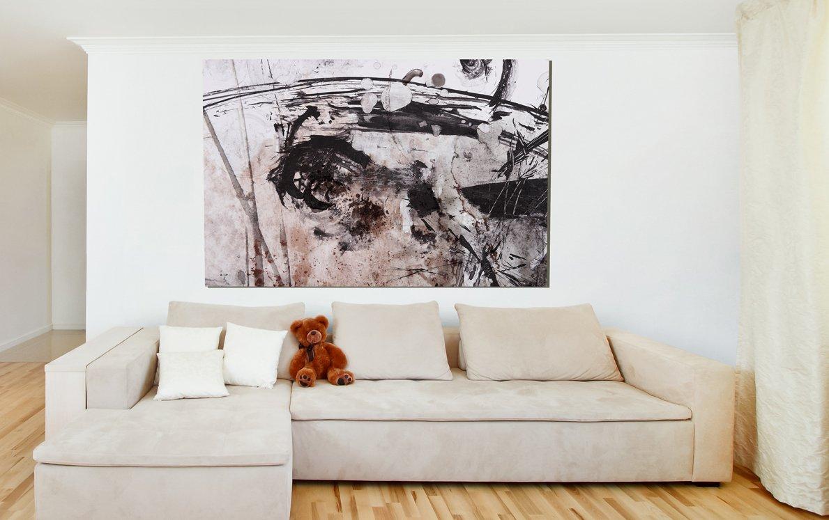 Cuadro Abstracto sobre lienzo Ref 96