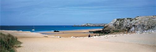 Cuadro Canvas La playa de Port-Bara