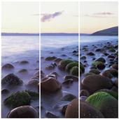 Cuadros Tríos Canvas Les rochers-Ecosse