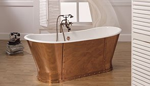 Bañera de cobre París